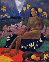 Te Aa No Areois (The Seed of Areoi), 1892 von Gauguin | Gemälde-Reproduktion