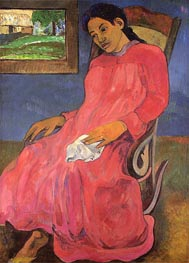 Faaturuma (Melancholy) | Gauguin | Painting Reproduction