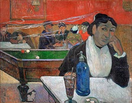 Night Cafe at Arles, 1888 by Gauguin | Painting Reproduction