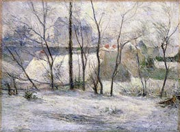 Winter Landscape, 1879 by Gauguin | Painting Reproduction