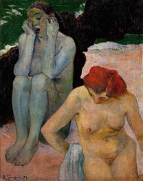 Life and Death, 1889 by Gauguin | Painting Reproduction
