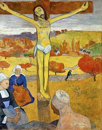 Yellow Christ, 1889 von Gauguin | Gemälde-Reproduktion