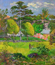 Landscape, 1901 by Gauguin | Painting Reproduction