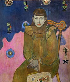 Vaiite (Jeanne) Goupil | Gauguin | Painting Reproduction