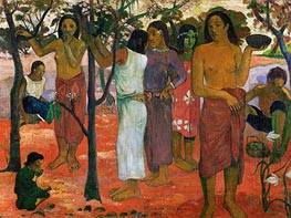 Nave nave nahana (Delicious Day), 1896 by Gauguin | Painting Reproduction