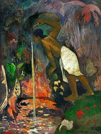 Pape Moe (Mysterious Water) | Gauguin | Painting Reproduction