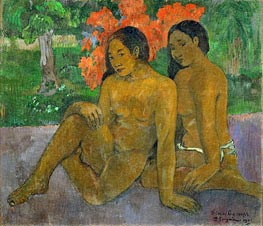 And the Gold of their Bodies, 1901 von Gauguin | Gemälde-Reproduktion