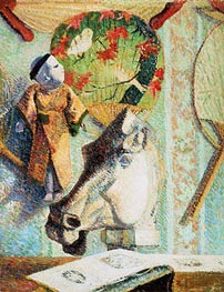Still Life with Horse's Head | Gauguin | Gemälde Reproduktion