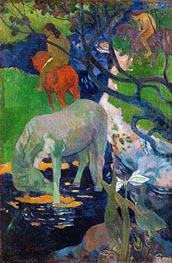 White Horse | Gauguin | Painting Reproduction