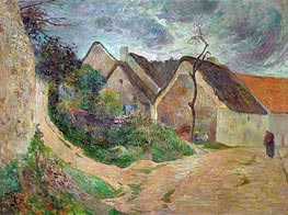 Osny, Mounting Road | Gauguin | Gemälde Reproduktion