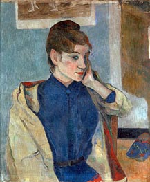 Portrait of Madeleine Bernard | Gauguin | Painting Reproduction