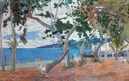 Seashore (Island of Martinique) | Gauguin | Painting Reproduction
