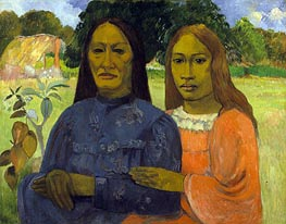 Two Women, c.1901/02 by Gauguin | Painting Reproduction