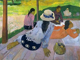 The Siesta, c.1892/94 by Gauguin | Painting Reproduction