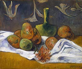 Still Life, 1891 by Gauguin | Painting Reproduction