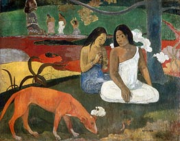 Arearea (Joyousness) | Gauguin | Painting Reproduction