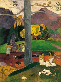 Mata Mua (In Olden Times) | Gauguin | Painting Reproduction