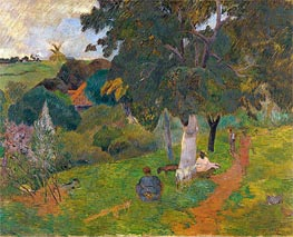Coming and Going, Martinique | Gauguin | Painting Reproduction
