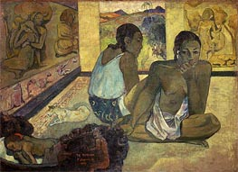 Te Rerioa (Day Dreaming), 1897 by Gauguin | Painting Reproduction