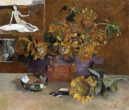 Still Life with l'Esperance | Gauguin | Gemälde Reproduktion