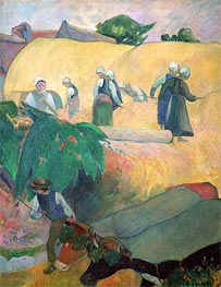 Haymaking | Gauguin | Painting Reproduction