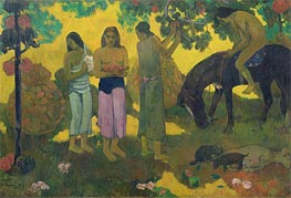 Rupe Rupe (Fruit Gathering) | Gauguin | Gemälde Reproduktion
