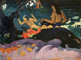 Fatata te Miti (By the Sea) | Gauguin | Gemälde Reproduktion