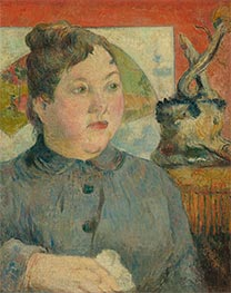 Madame Alexandre Kohler | Gauguin | Painting Reproduction