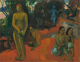 Te Pape Nave Nave (Delectable Waters), 1898 by Gauguin | Painting Reproduction