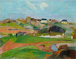 Landscape at Le Pouldu | Gauguin | Painting Reproduction