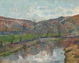 Brittany Landscape | Gauguin | Painting Reproduction