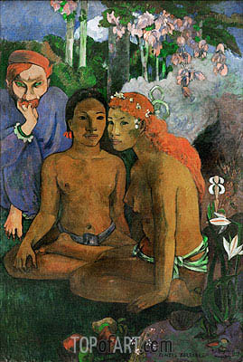 Conted Barbares (Primitive Tales), 1902 | Gauguin | Painting Reproduction