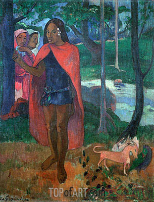 The Magician of Hivaoa, 1902 | Gauguin | Gemälde Reproduktion