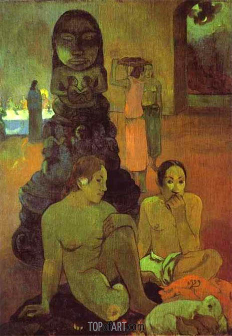 The Great Buddha, 1899 | Gauguin | Painting Reproduction