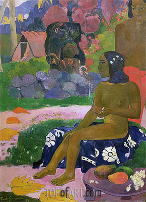 Vairaumati Tei Oa (Her Name is Vairaumati), 1892 | Gauguin | Painting Reproduction