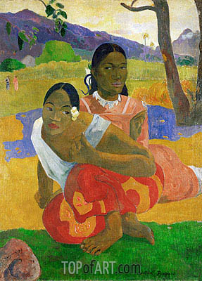 Nafeaffaa Ipolpo (When Will You Marry), 1892 | Gauguin | Painting Reproduction