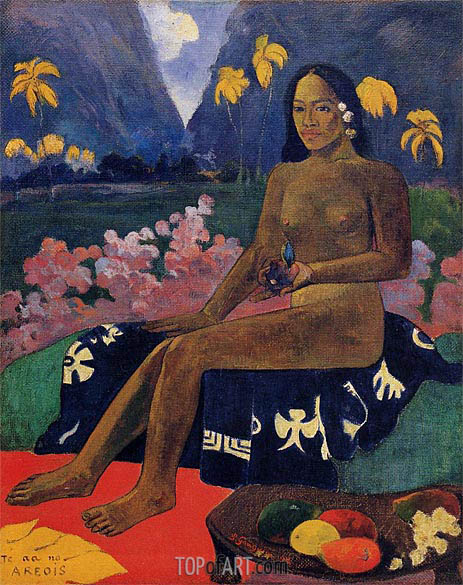 Te Aa No Areois (The Seed of Areoi), 1892 | Gauguin | Painting Reproduction
