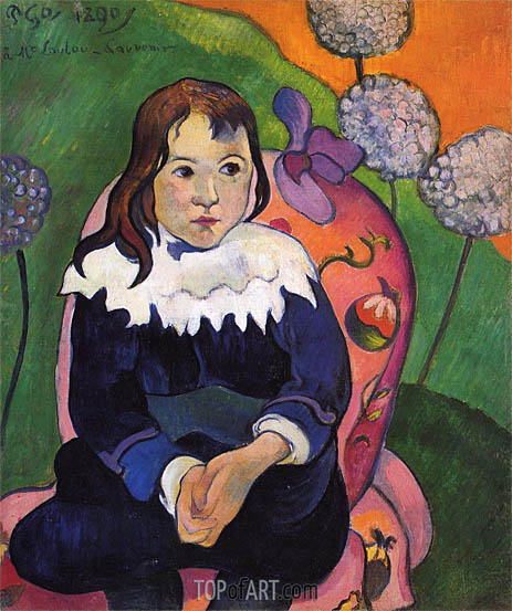 M. Loulou, 1890 | Gauguin | Painting Reproduction