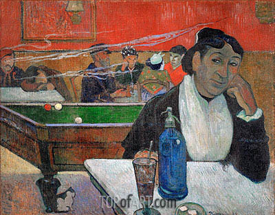 Night Cafe at Arles, 1888 | Gauguin | Painting Reproduction