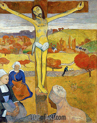 Yellow Christ, 1889 | Gauguin | Painting Reproduction