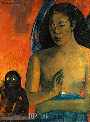 Poemes Barbares, 1896 | Gauguin | Painting Reproduction