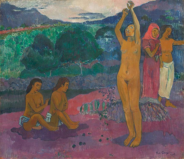 The Invocation, 1903 | Gauguin | Painting Reproduction