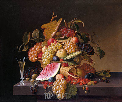 The Abundance of Summer, undated | Paul Lacroix | Painting Reproduction