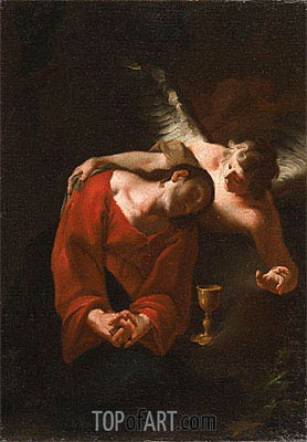 The Agony in the Garden, c.1735 | Paul Troger | Painting Reproduction