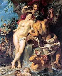 The Union of Earth and Water | Rubens | Gemälde Reproduktion