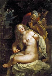 Susanna and the Elders | Rubens | Painting Reproduction