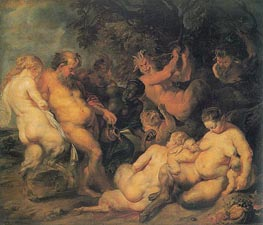 Bacchanalia | Rubens | Painting Reproduction