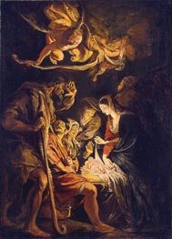The Adoration of the Shepherds | Rubens | Painting Reproduction