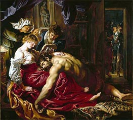 Samson and Delilah | Rubens | Painting Reproduction