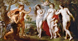 The Judgement of Paris | Rubens | Painting Reproduction